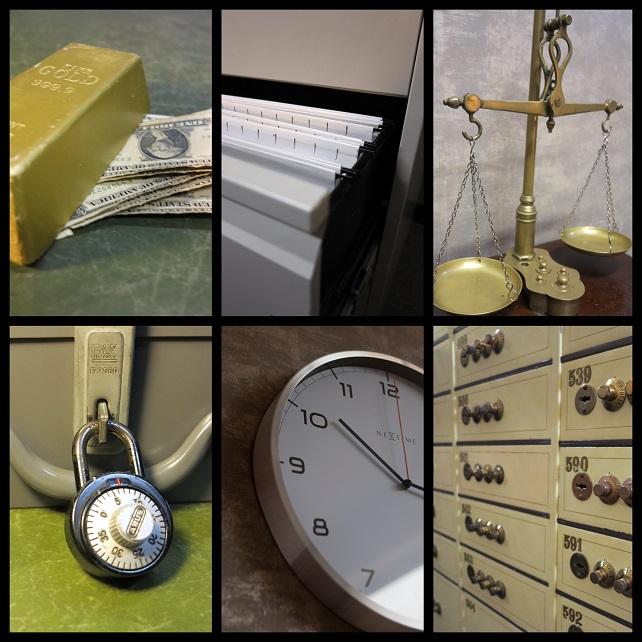 Sfeerbeelden escaperoom Bank Heist